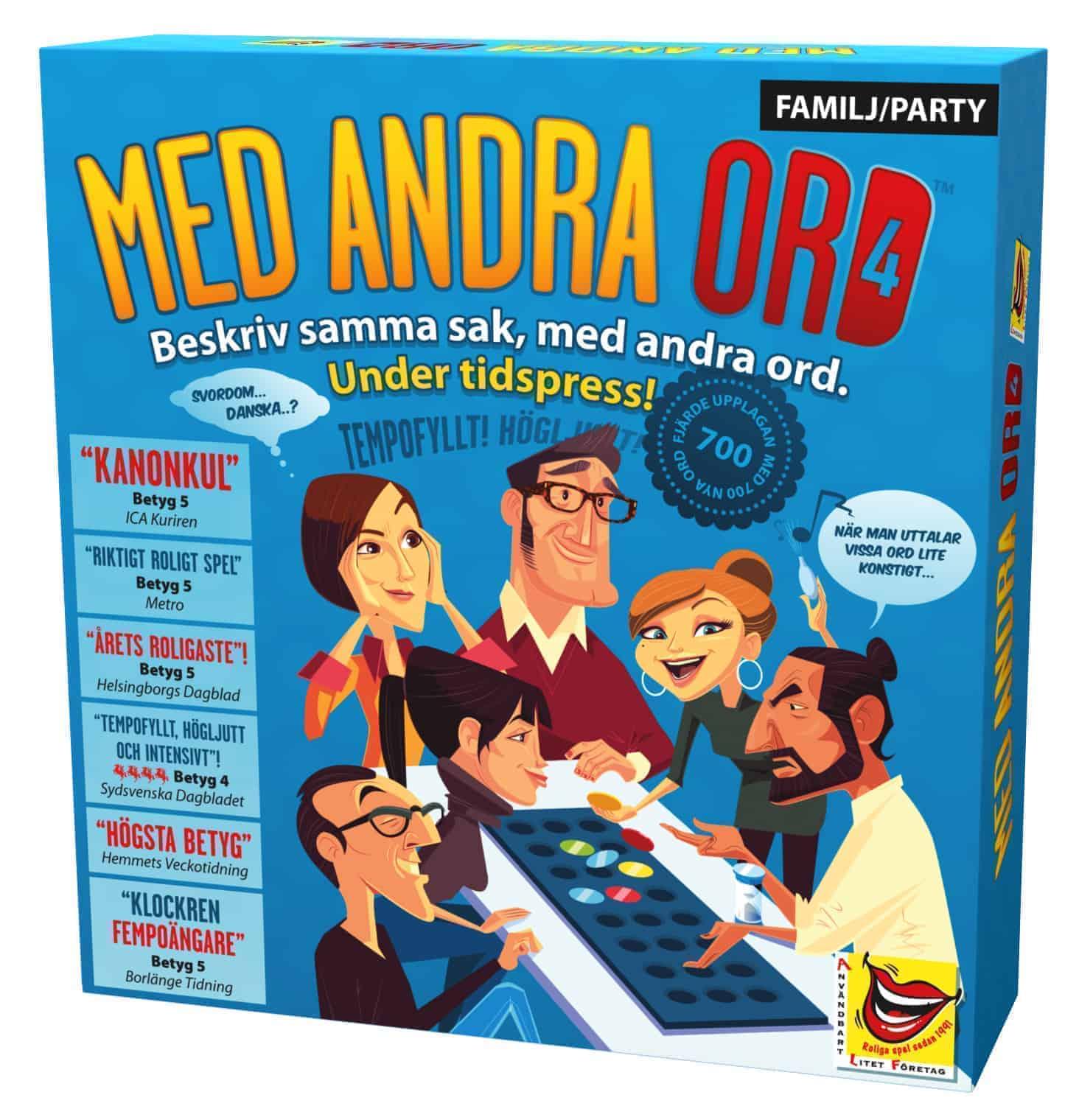 SPEL MED ANDRA ORD