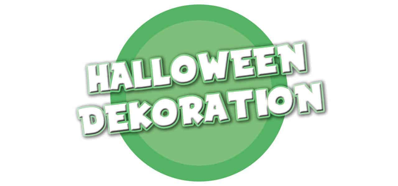 HALLOWEEN DEKORATION