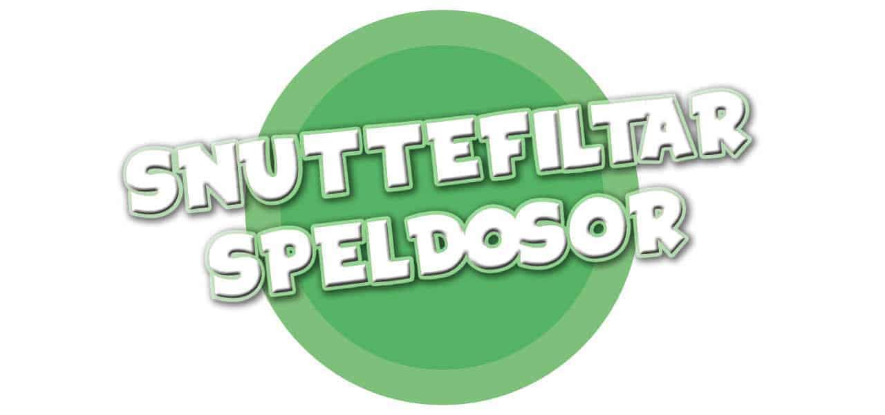 SNUTTEFILTAR/SPELDOSOR